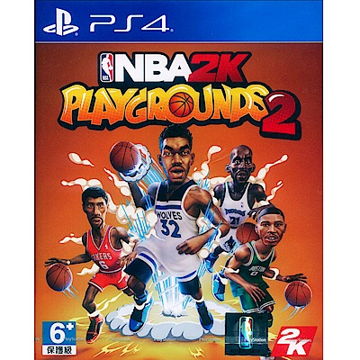 NBA 2K 熱血街球場 2 NBA 2K Playgrounds 2-PS4 中英文亞版