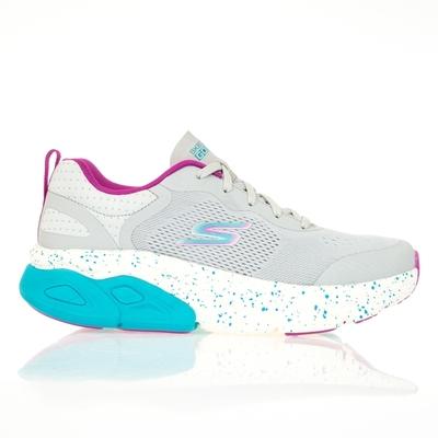 SKECHERS GO RUN MAX CUSHIONING ULTIMATE 女慢跑鞋-灰-128266GYMT