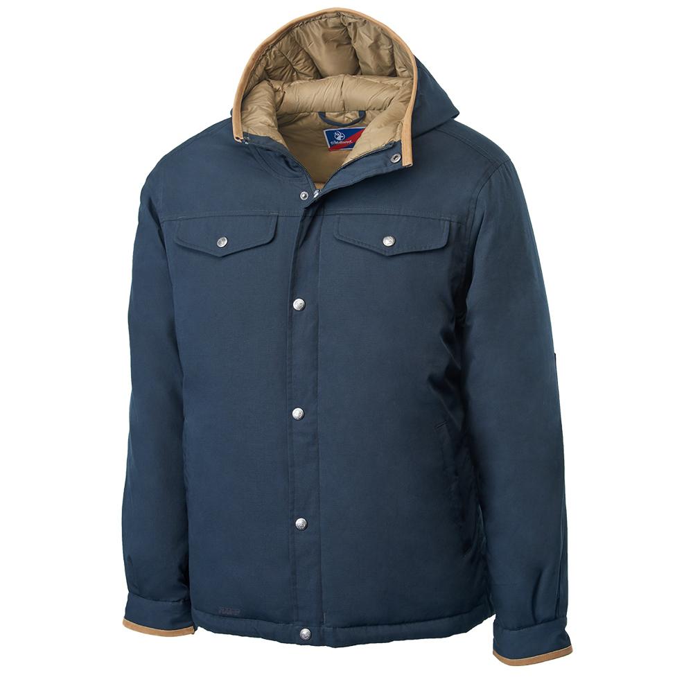 Wildland 男鵝絨防潑水極暖外套藍