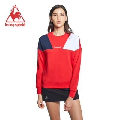 法國公雞牌圓領T恤 LYI2268575-女-紅