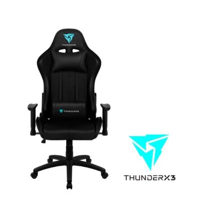 【ThunderX3】JC5 競速超跑電競賽車椅(尊爵黑)