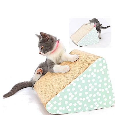 dyy》三角斜坡楞纸猫抓板22.7*19.6*25.6cm
