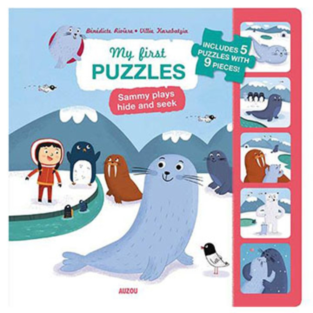 My First Puzzles:Sammy Plays Hide And Seek 拼圖遊戲書 product image 1