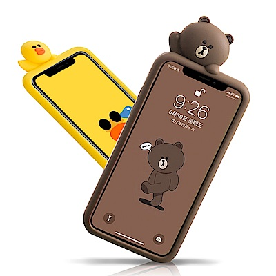 iStyle  iPhone X/XS 5.8吋 熊大莎莉趴趴手機殼