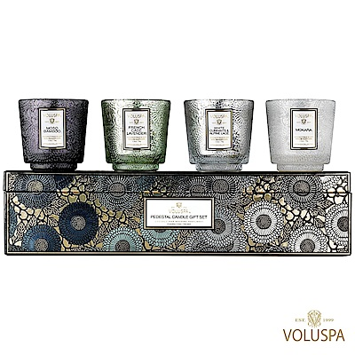 VOLUSPA 官方精緻禮盒4入組 冷調 COOL TONES (2.5oz*4款)
