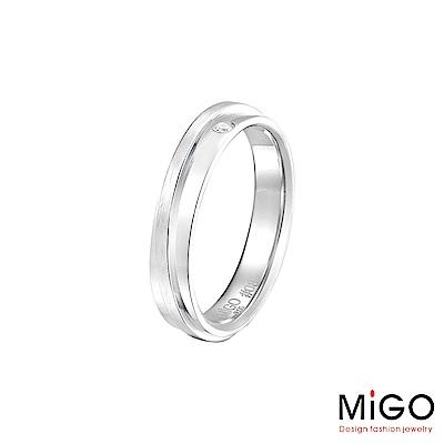MiGO 擁抱純銀女戒指