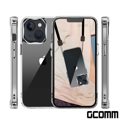 GCOMM iPhone 13 晶透厚盾抗摔殼 Clear Shield