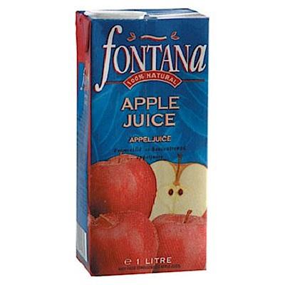 Fontana 蘋果汁(1Lx12入)