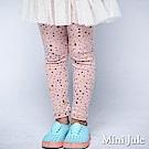 Mini Jule 內搭褲 滿版星星月亮印花彈性內搭長褲(豆粉)