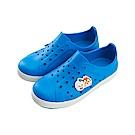 迪士尼 TsumTsum 米奇家族 防水休閒鞋-藍