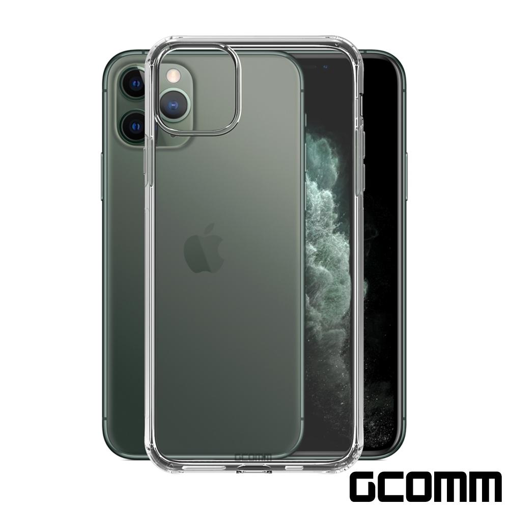 GCOMM iPhone 11 清透圓角防滑邊保護套 Round Edge