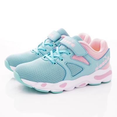 DIADORA童鞋 復古厚底老爹鞋款 SE916藍(中大童段)