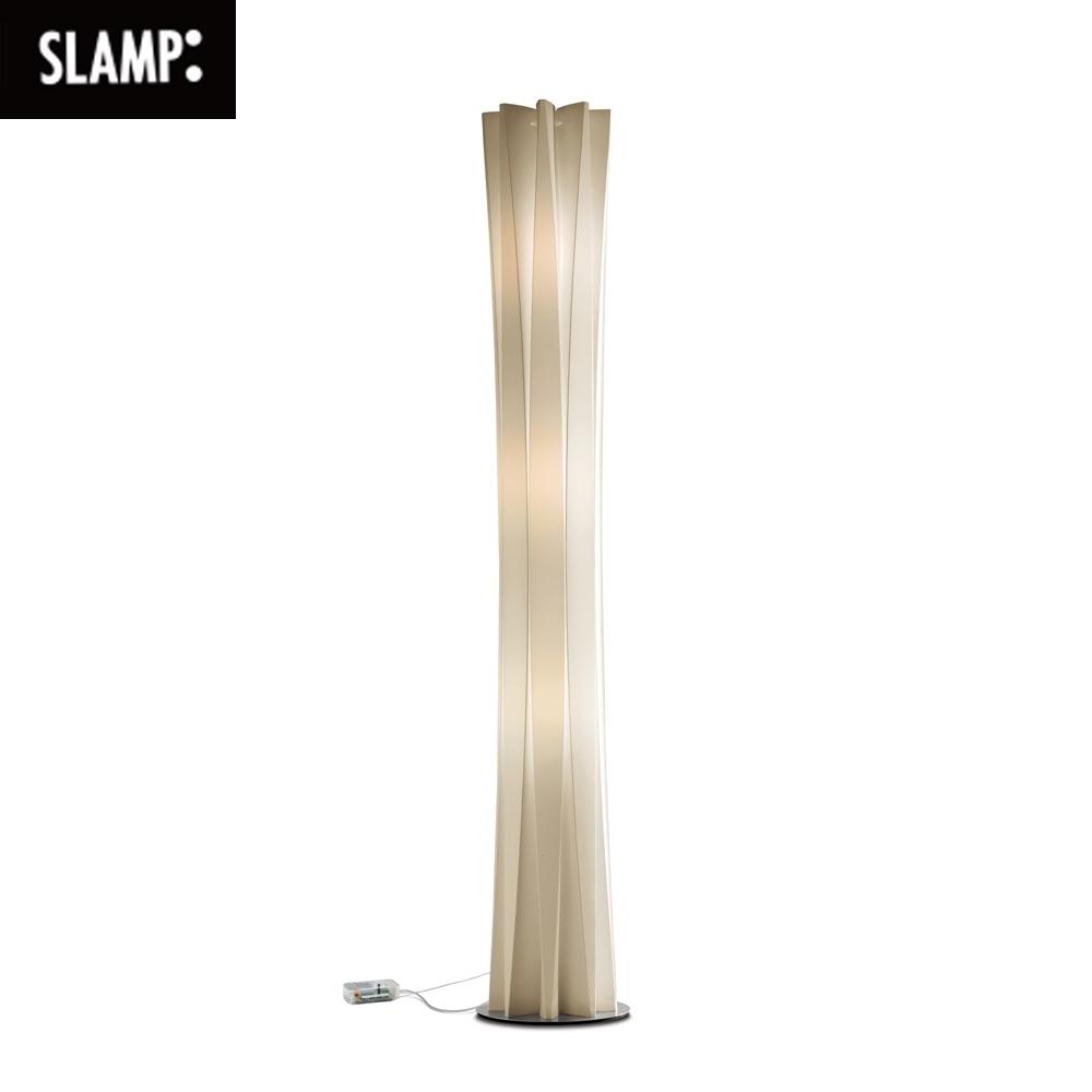 【SLAMP】BACH FLOOR 立燈(金/白)