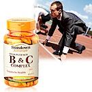 Sundown日落恩賜高單位緩釋型B群+C(B12強化配方)(100錠/瓶)