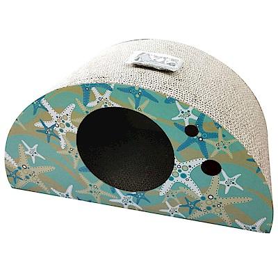 MDOBI摩多比-貓丸家 瓦楞紙 貓抓板-半圓型