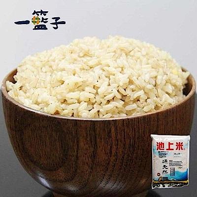 一籃子‧台東池上天然胚芽糙米(2公斤/包,共8包)