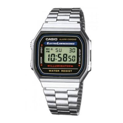CASIO 復古潮流新時尚電子腕錶-( A-168WA-1)