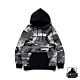 XLARGE CAMO PULLOVER HOODED SWEAT連帽上衣-黑 product thumbnail 1