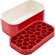 《LEKUE》附蓋蜂巢製冰盒(紅330ml) product thumbnail 2
