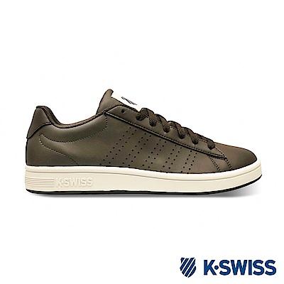 K-SWISS Court Casper S 時尚運動鞋-男-咖啡
