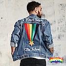 Levis 牛仔外套 男裝 彩虹刺繡 Pride限量系列