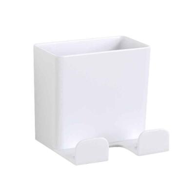 (2入)電視冷氣遙控器 插頭 多功能壁掛收納盒