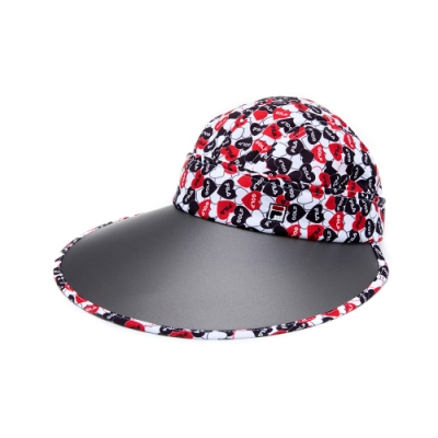 FILA 時尚遮陽帽-紅 HTU-5010-RD