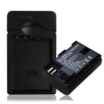 WELLY Canon LP-E6 / LPE6N 認證版 防爆相機電池充電組
