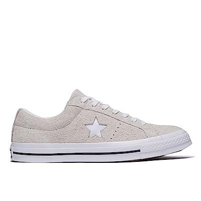 CONVERSE-ONE STAR OX 男女休閒鞋-白