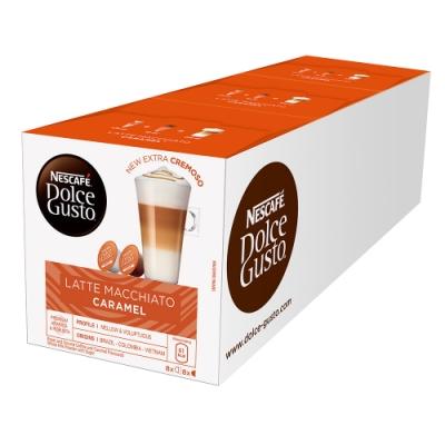 雀巢咖啡 DOLCE GUSTO 焦糖瑪奇朵咖啡膠囊 (3x145.6g)