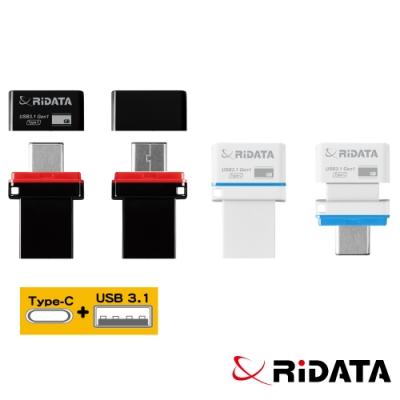 RIDATA錸德 HT2 USB3.1 Gen1+TypeC 雙介面隨身碟 64GB