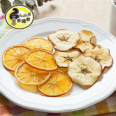 答波恩 天然果乾雙拼C-蘋果+甜橙(共兩包)