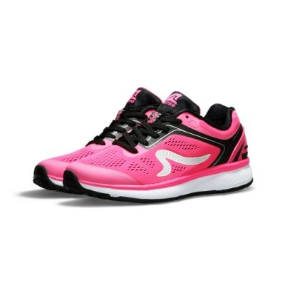 【ZEPRO】女子KIRIN系列減震耐磨運動跑鞋II代-粉桃紅
