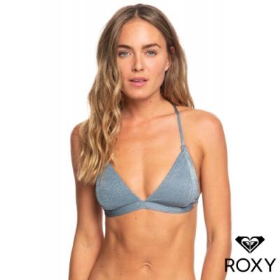 【ROXY】COL. MY LIFE 美背繞頸三角式比基尼 灰藍