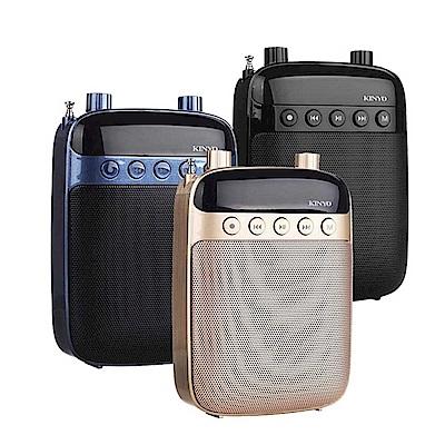 (2入組)KINYO 多功能耳麥式擴音器/錄音收音機(TDM-90)