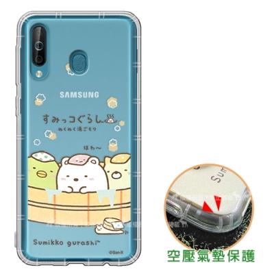 SAN-X角落小夥伴Samsung Galaxy A40s空壓保護手機殼溫泉