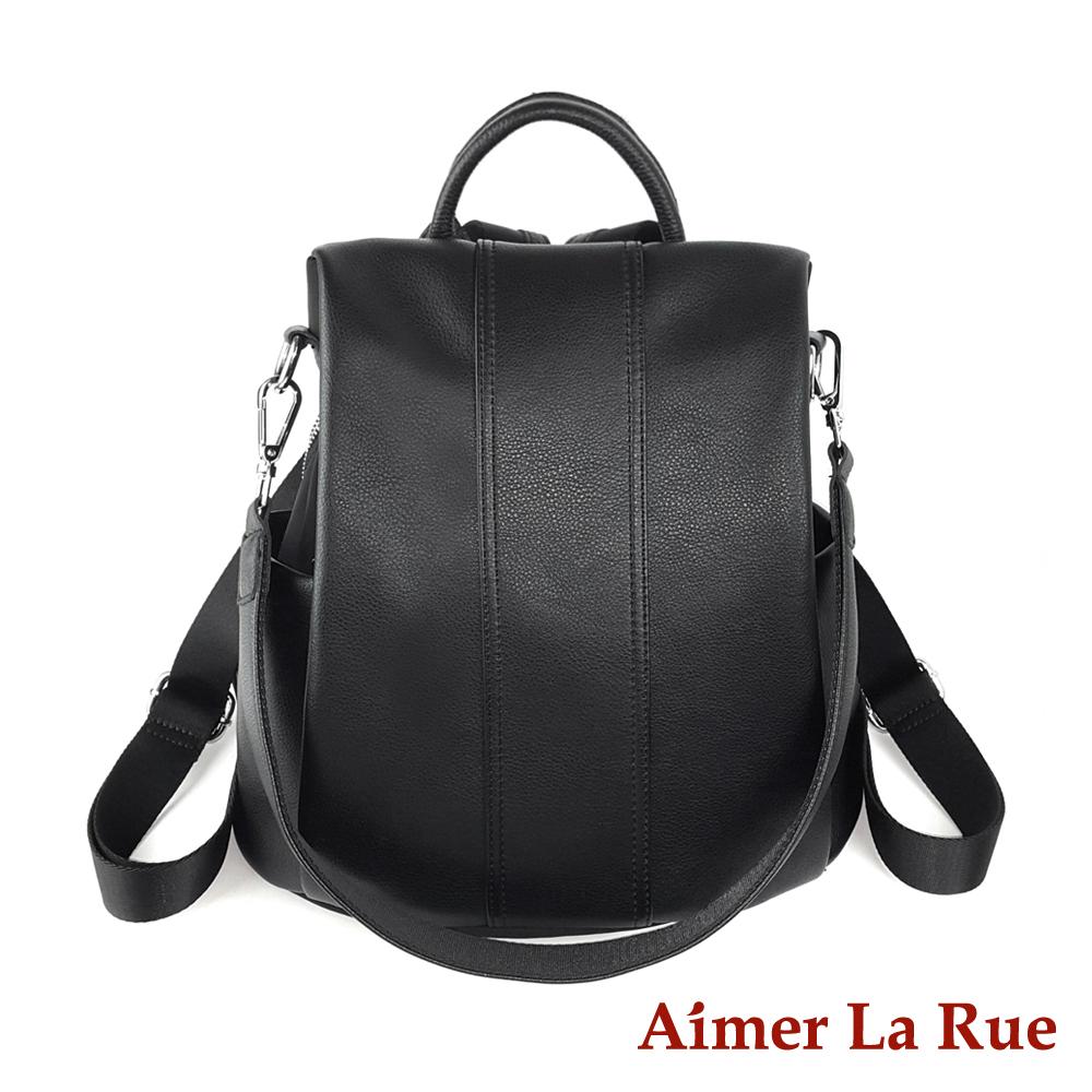 Aimer La Rue 費尼烏兩用後背包-黑色(快) @ Y!購物