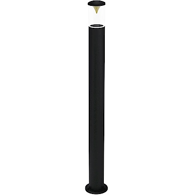 EGLO歐風燈飾 現代雙色LED塑膠圓筒圓柱燈