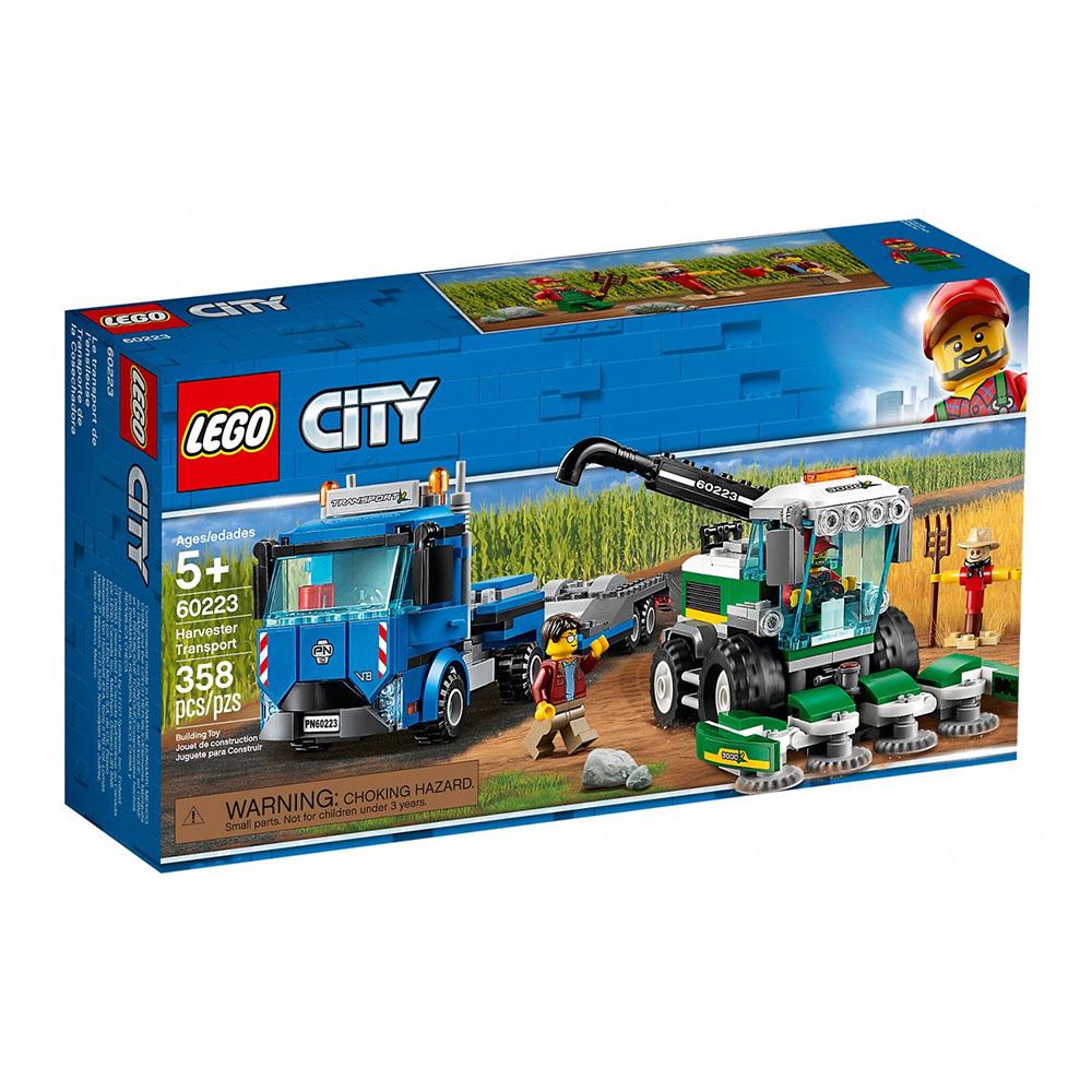 樂高LEGO 城市系列 - LT60223 收割機運輸車
