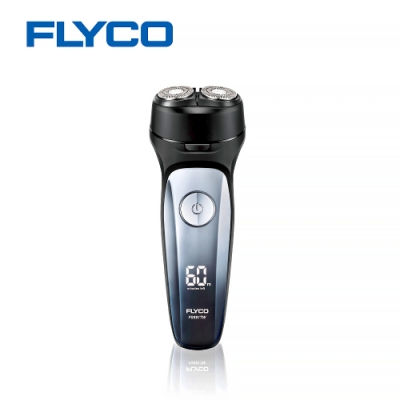 【FLYCO】雙刀頭智慧電動刮鬍刀(FS881)