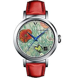 梵谷Van Gogh Swiss Watch梵谷經典名畫男錶(I-SLMB-12)42mm
