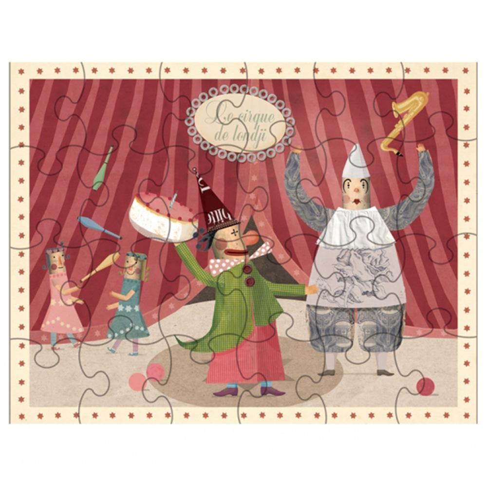西班牙Londji 主題小拼圖-逗趣小丑