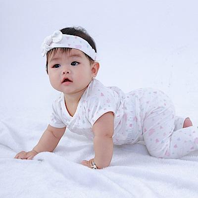 【Deux Filles有機棉】初生嬰幼兒四季棉褲-粉紅兔