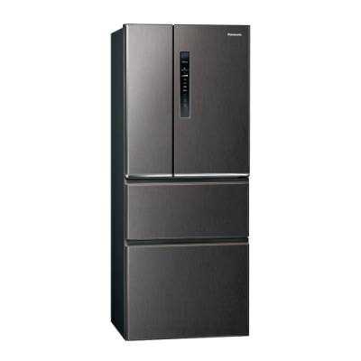 Panasonic國際牌500L四門變頻冰箱 NR-D500HV-V 絲紋黑