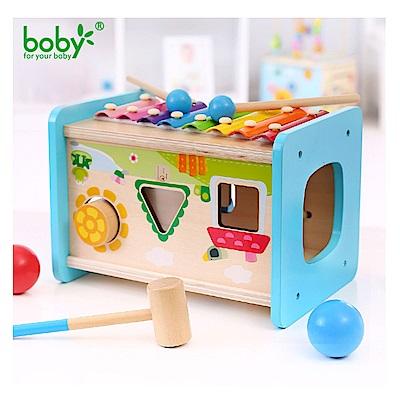 Boby 木製多功能八音敲打琴球台(18m+)