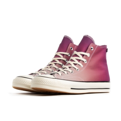 CONVERSE CHUCK 70 HI ROSE MAROON/NAPLES YELLOW 男女款 168111C