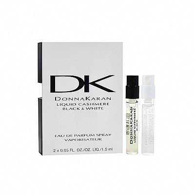 Donna Karan Liquid Cashmere黑白針管小香 女性淡香精 1.5ml