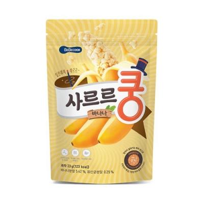 韓國 BEBECOOK 幼兒益生菌泡芙(香蕉)
