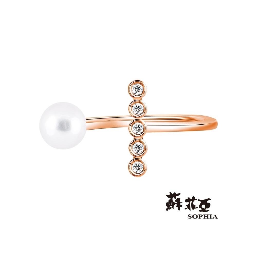 蘇菲亞 SOPHIA - 維納斯之淚鑽石戒指