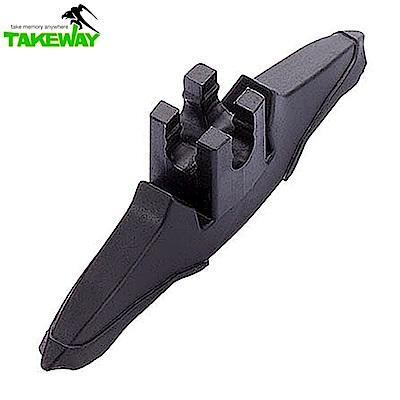 台灣製造Takeway鉗式腳架T1底座 T-S01